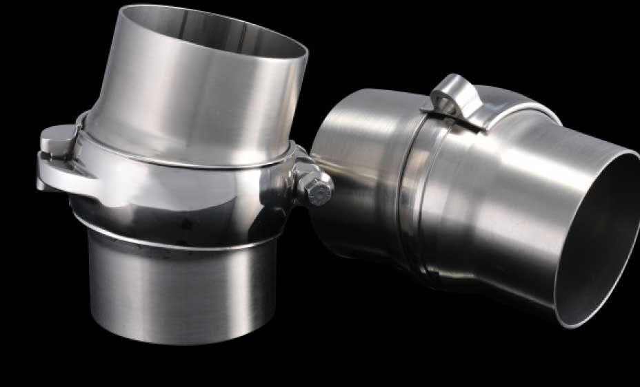 Low-Profile Exhaust Clamps